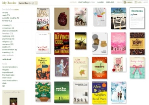 Penampakan Goodreads - Favourite shelf